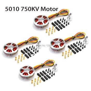 5010 750KV KV750/360KV fırçasız motor Için ZD550 ZD680 RC MultiCopter QuadCopter Uçak