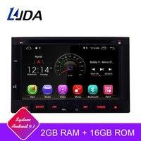 LJDA 2 Din Android 9,1 автомобильный радиоприемник для peugeot 3005 3008 5008 партнер Berlingo автомобильный мультимедийный плеер стерео gps Навигация DVD ips