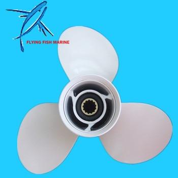Outboard Motors 11 5/8 x 11 G Aluminum Propeller for Yamaha 25HP 30HP 40HP 45HP 50HP 55 HP 60HP / Hodan 40HP 50HP