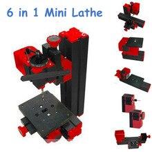 High Quality DIY Mini Lathe Machine 6 in 1, DIY Mini Micro Lathe Machine Tool 6 in 1 For Wood and Soft Metal