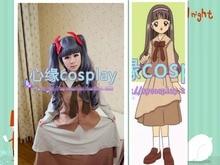 Hot Anime Card Captor Sakura Tomoyo Daidouji marrón vestido de Cosplay del partido del traje uniforme escolar ropa nueva