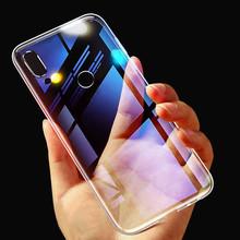 Przezroczysty pokrowiec dla Huawei P inteligentny 2019 przypadku Mate 10 20 P30 P20 lite Pro Honor 8X P8 P10 P9 Lite Mini Y6 2018 miękkie silikonowe etui z tpu tanie tanio JoyKiworld Aneks Skrzynki Luxury Transparent TPU Case For Huawei P30 Pro Case Mate10 Mate20 Lite Odporna na brud for huawei mate 30 lite pro mate30pro
