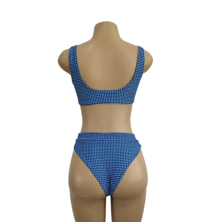 acd977555045 Compre Bikini Traje De Baño De Las Mujeres Empuja Hacia Arriba El ...