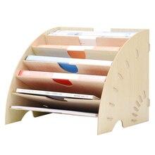 """Органайзер для журналов """"сделай сам"""", многослойные настольные органайзеры, держатель для книг, деревянный органайзер для хранения, подставка, полка, стойка, уголок радости"""