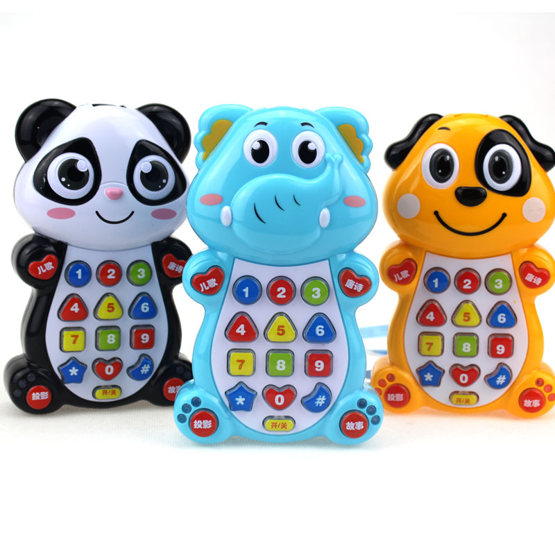 Children Enlightenment Music Phone Simulation Telephone Babies Learn Baby Early Education 0-1-3 Years Of For Intelligent Toys