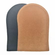 100 шт. мягкая бархатная и многоразовая самозагорающаяся рукавица для распыления загара и бронзы без загара Аппликатор Mitt