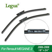"""Legua auto winscreen tergicristallo per Renault MEGANE 2 (2006-2008), 18 """"+ 24"""", disossata, parabrezza, gomma tergicristallo"""