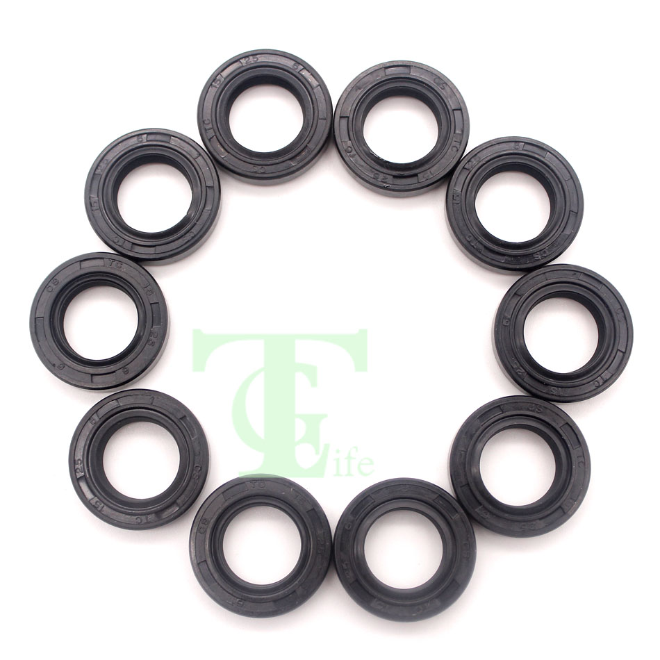 10Pcs/lot Oil Seal Kit For STIHL MS250 MS230 MS210 MS180 MS170 017 018 021 023 025 Chainsaw Parts