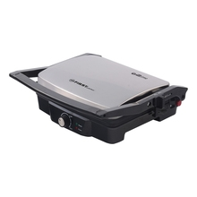 Гриль-пресс FIRST FA-5344-1 Black (Мощность 2000 Вт, Желоб для сбора жира ,Индикатор питания и готовности к использованию, регулятор температуры)