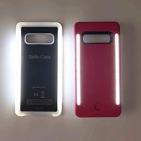 Para galaxy s10 s8 s9 mais anti queda 3 gerações led de luxo luminoso caso do telefone protetor capa saco para samsung s10 caso|Estojos encaixados| |  -