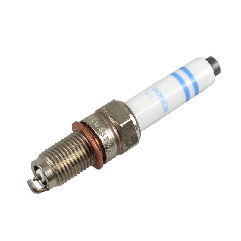 4pieces/set BOSCH Double Platinum car Spark Plug Y 5 KPP 332 S for Volkswagen Golf VII 1.4 TSI AUDI A3 1.4 SKODA auto part