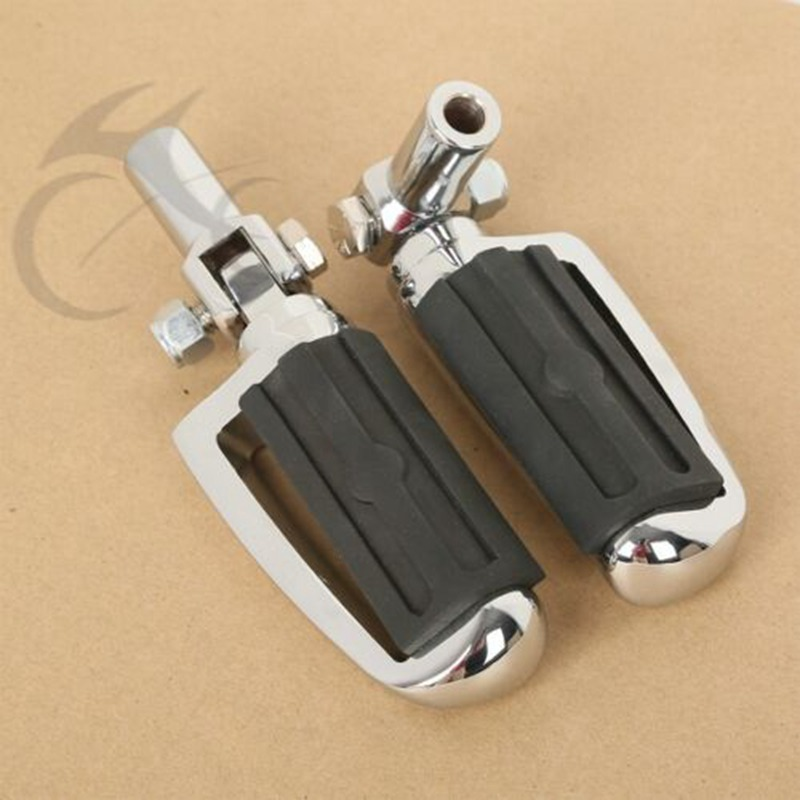 Motorcycle Male Mount Style FootPegs & Pegs Supports Mounts For Harley Softail 2000-2006 03 05