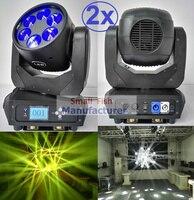 2 xLot супер луч движущийся 6x25 Вт Здравствуйте te светодио дный лампа луч мыть DJ сценическое освещение 12/20 DMX каналы Здравствуйте качество Лидер
