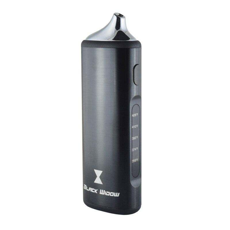 Original Kingtons Black window 2200mAh Dry Herb Vaporizer electronic cigarette vape it herbal vaporizer vape pen e-cigarettes