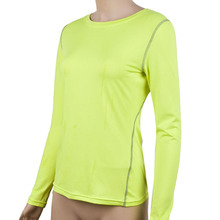 Women s Quick dry Compression Base Layer Tight Tops Tee Shirt Fitness Yogo Tops