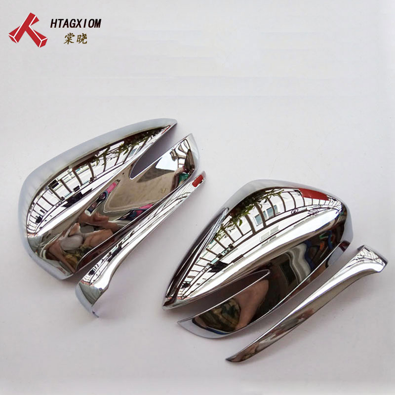 for <font><b>Mazda</b></font> CX-5 <font><b>CX5</b></font> <font><b>2015</b></font> 2016 Chrome Side Mirror Covers Strip Trim Car Styling Stickers Auto <font><b>Accessories</b></font> & Part image