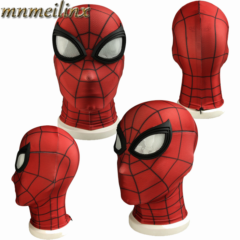 Costume Props Movie Cos Spiderman Ps4 Game Cospaly Spider-man Mask Cosplay Costume Headwear Hat Mask Prop Halloween Free Shipping Free Size Costumes & Accessories
