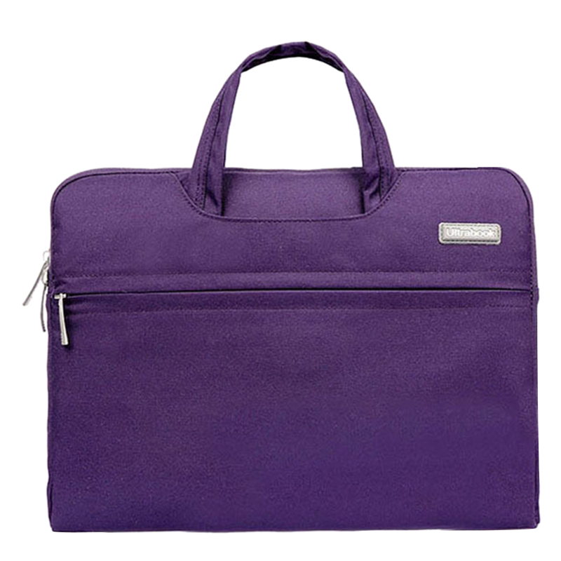 Fashion Universal Laptop Ultrabook Notebook Skin Bag &for Macbook Air Pro Sleeve Case (Purple )