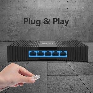 Image 4 - TP LINK Gigabit Network Switchs TL SG1005M  5 port desktop Switch 10/100/1000Mbps RJ45 port Easy Smart  Ethernet Switch LAN Hub