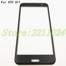 نوعية جيدة الأصلي 5.5 بوصة ل HTC U11 الجبهة زجاج شاشة تعمل باللمس LCD الخارجي لوحة عدسة + التوصيل المجاني