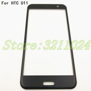 Image 1 - نوعية جيدة الأصلي 5.5 بوصة ل HTC U11 الجبهة زجاج شاشة تعمل باللمس LCD الخارجي لوحة عدسة + التوصيل المجاني