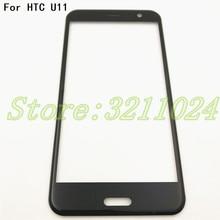 Buena calidad, Original, 5,5 pulgadas, para HTC U11, pantalla táctil de cristal frontal, LCD, Panel exterior, lente + entrega gratuita