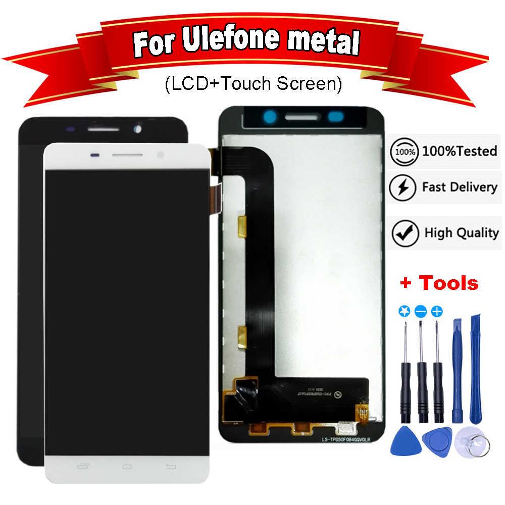 5 0 дюйма для UleFone металлический ЖК дисплей кодирующий преобразователь сенсорного
