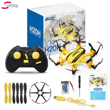 JJR/C JJRC H20H 2.4G 4 Channel 6-Axis Gyro RC Hexacopter RTF Drone with CF Mode/One Key Return/3D Flip/Altitude Hold VS JJRC H20