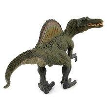 купить Jurassic Animal Model World Park Monster Spinosaurus Dinosaur S. marocannus Plastic ToyS Decorate Gifts for Kids/Children 29CM по цене 1164.55 рублей