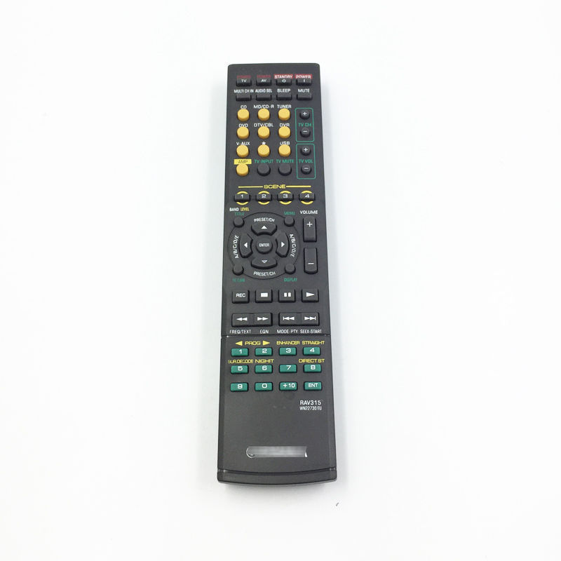 New Remote Control Fit For Yamaha WN058100 HTR-6130 RX-V363BL RAV283 A/V AV Receiver Remote Control new remote control fit for yamaha wn058100 htr 6130 rx v363bl rav283 a v av receiver remote control