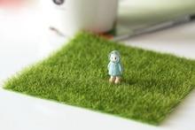 15cm Simulation Square Grass home decor Moss miniature fairy garden decoration accessories shooting DIY tool figurine figure