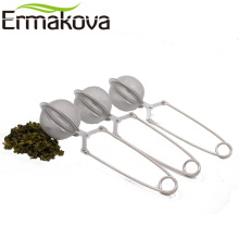 ERMAKOVA 3 Pcs/Lot 2 Inch Stainless Steel Mesh Tea Ball Infuser Tea Strainer Filter with Handle Tea Mesh Ball Filter Tea Infuser