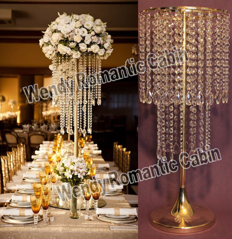 Aliexpress buy free shipping cm h wedding crystal