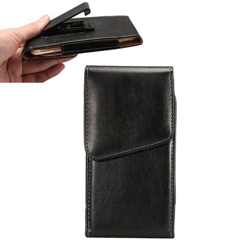 Флип Зажим для ремня чехол держатель кожаный мешок Сумки чехол бумажник для Huawei Honor 6 5 дюймовый мобильный телефон защитный Чехол y2a05d