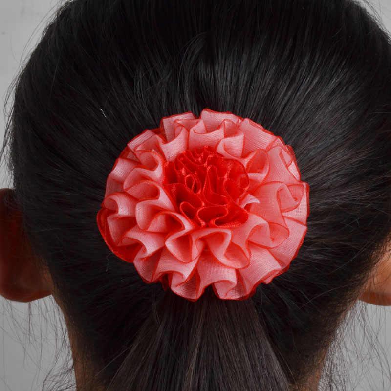 2 pcs Tóc Chủ Sở Hữu Chất Lượng Cao Ban Nhạc Cao Su Elastics Tóc Phụ Kiện Cô Gái Phụ Nữ bow Tie Kẹo Cao Su tóc scrunchie hoa headand