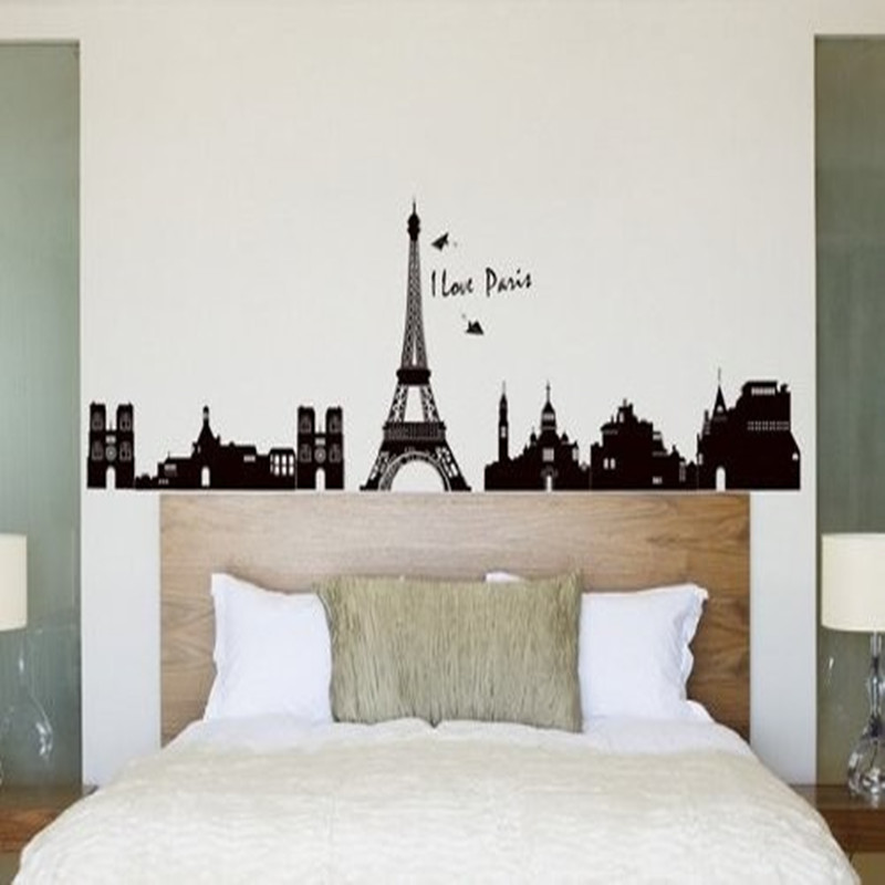 Popular paris room decor buy cheap paris room decor lots from china paris room decor suppliers - Eiffel tower decor for bedroom ...