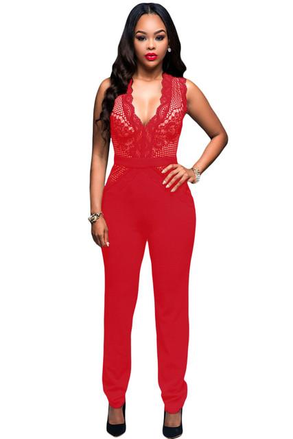 2016 Elegante Macacão Mulheres Bodycon Jumpsuit Nu Acento Do Laço Macacão macacão feminino Combinaison LC64082 Pantalon Femme