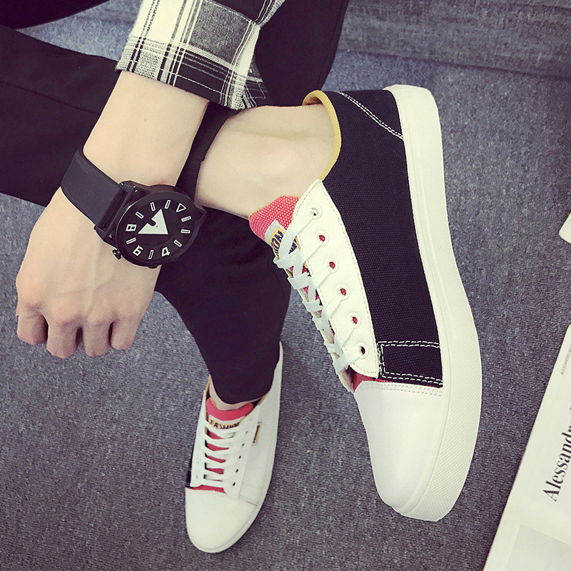 hot sale 2017 new camouflage canvas shoes men trend printing plate sport shoes men walking shoes male chaussure homme sneakers