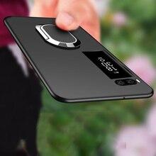 Meizu pro 7 caso capa para meizu pro 7 plus ímã de silicone macio capa para meizu pro 7 plus caso do telefone para meizu pro7