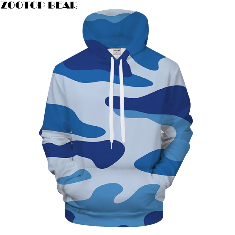 New Mens Camouflage ands Sweatshirts Hooded Tracksuit Streetwear Pullover Coat Brand Hoodies Hoodie Male Clothing Drop Ship