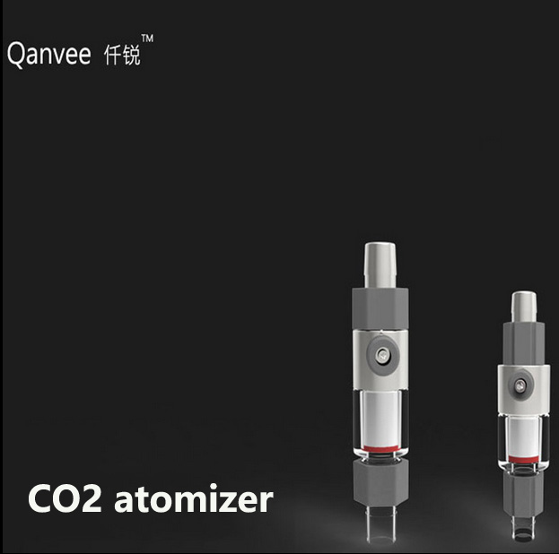 Qanvee atomizer system new design accessory can be replaced co2 diffuser CO2 Atomizer System Diffuser Reactor