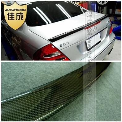 FREE SHIP carbon fiber car rear trunk spoiler for MERCEDES-BENZ W211 E-class 2003-2009 rambach mercedes benz e 220 cdi w211 136 л с