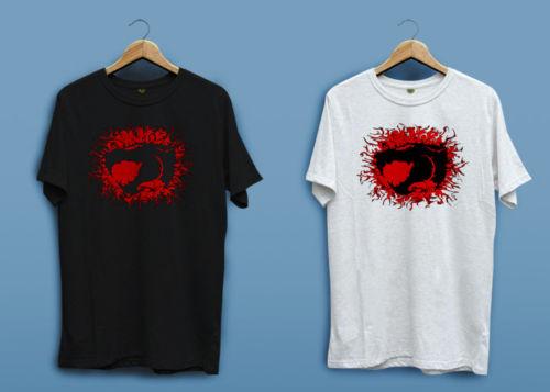 Create Your Own Shirt Casual Men O-Neck Thundercats Burning Logo Black White Short-Sleeve Tee Shirts