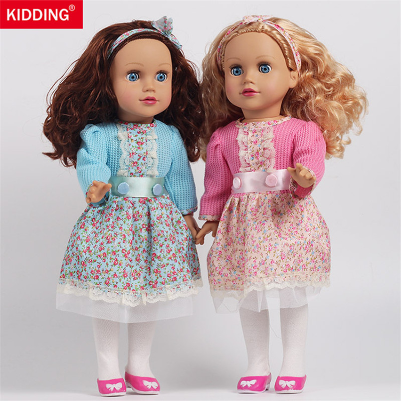 simulation girls doll 45cm reborn dolls Baby Doll Toy bathing pretend play educational toys for children kids birthday gifts