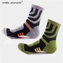 Moda Socmark Brand Professional Basketball Socks Boxing Elite Thick Sports Socks Non-slip Durable Skateboard Towel Bottom Socks цена