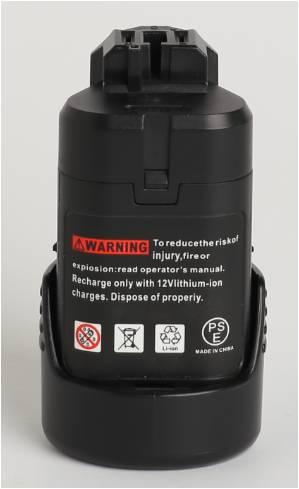 Conjunto de Bateria ferramenta de poder, bos10.8a 1500 Tensão : 10.8v