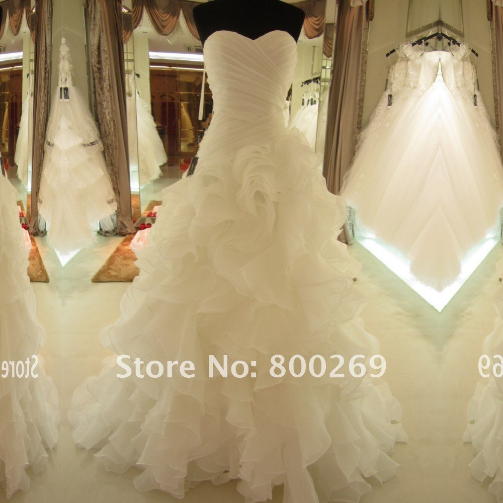 Buy Sl 7070 Hot Sale Real Picture Organza