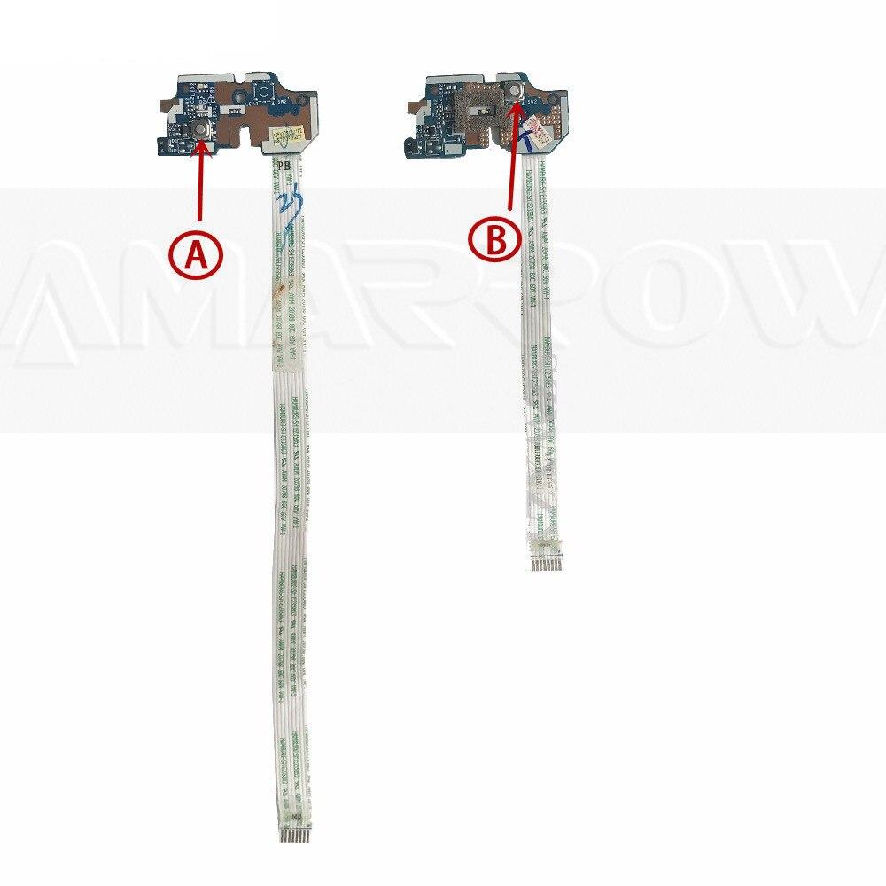Original para ACER E1-531 E1-571 V3-551 V3-551 V3-571 NV56R NE56R Placa do Botão de Energia Interruptor placa LS-7912P