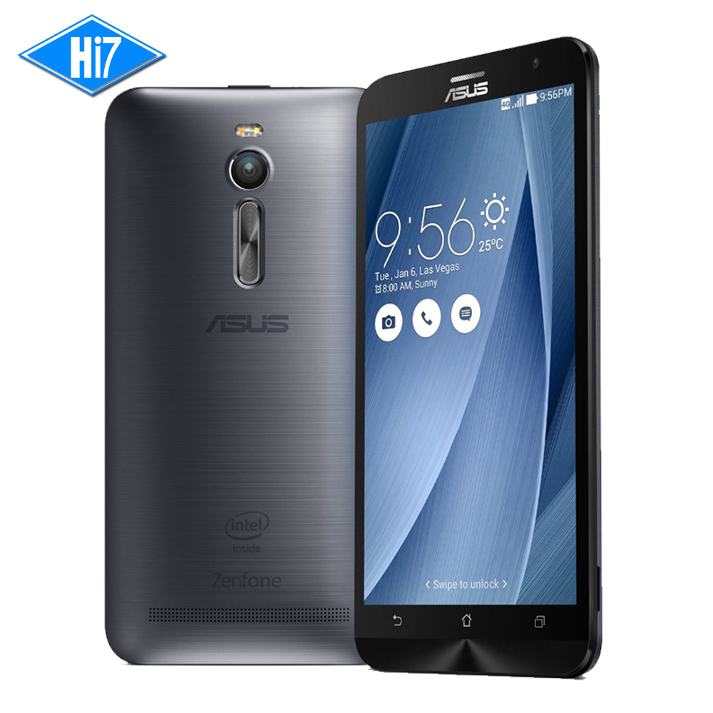 "New Original ASUS Zenfone 2 Ze551ML Mobile Phone Android 4GB RAM 16GB 5.5"" 2.3GHz Wifi 13MP Camera Quad Core LTE 4G SmartPhone"