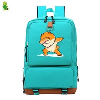 School Bags for Teenagers Girls Funny Panda Chow Backpack Women Men Laptop Backpack Pomeranian Casual Travel Bags Large Backpack